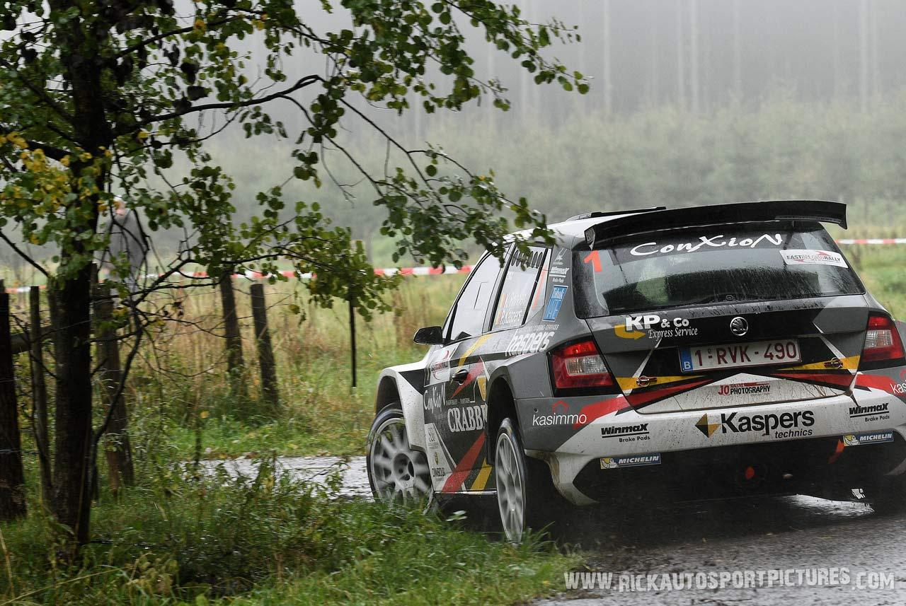 Kris Princen East Belgian Rally 2017
