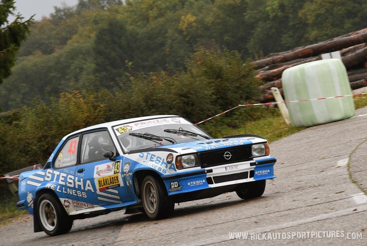 Stefaan Prinzie East Belgian Rally 2017