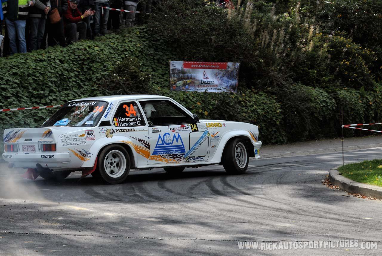 Rainer Hermann East Belgian Rally 2015