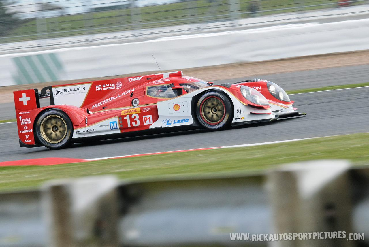 Rebellion racing WEC Silverstone 2014