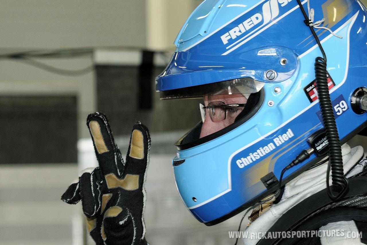 Christian Reid Silverstone 2014
