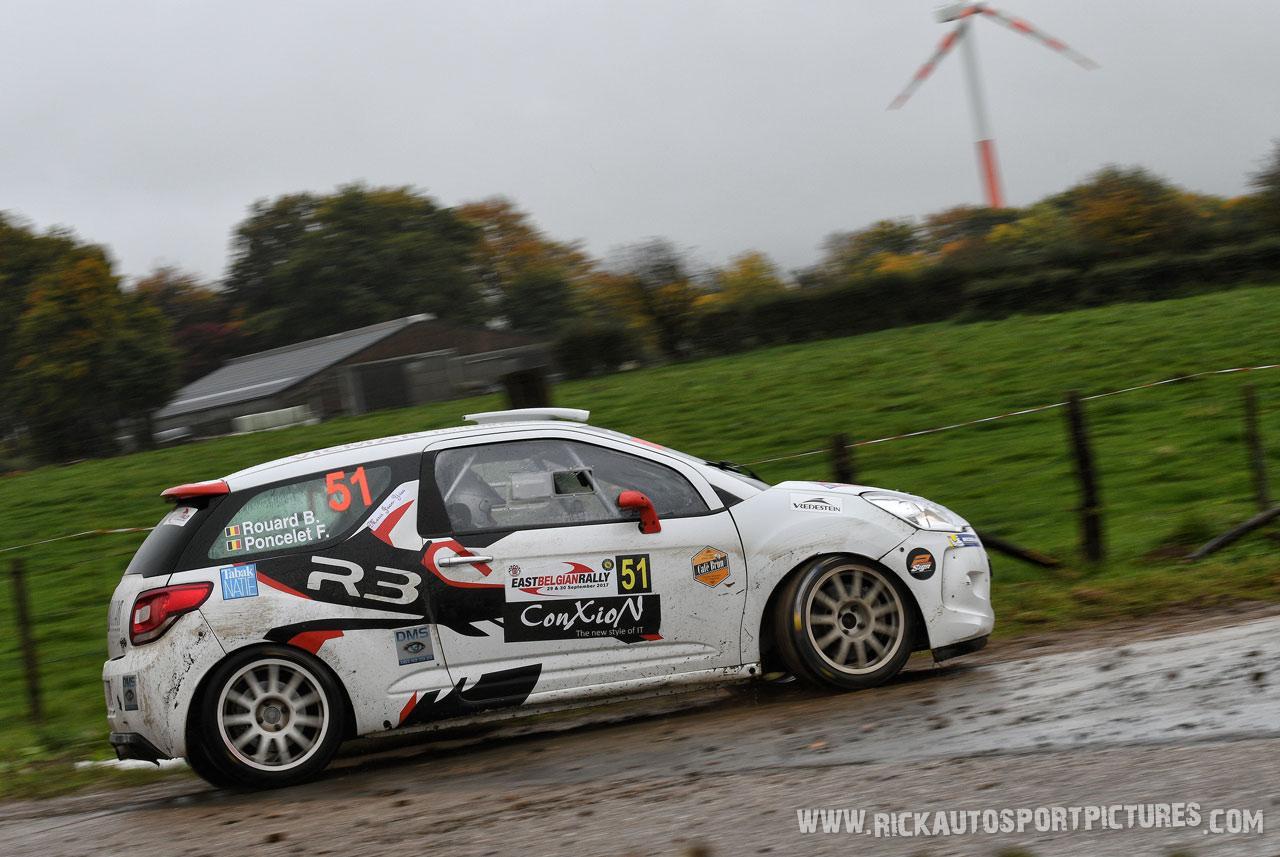 Rouard East Belgian Rally 2017