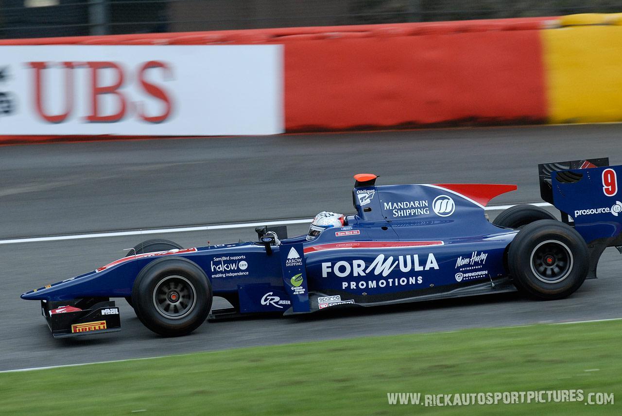 Sam Bird GP2 2011