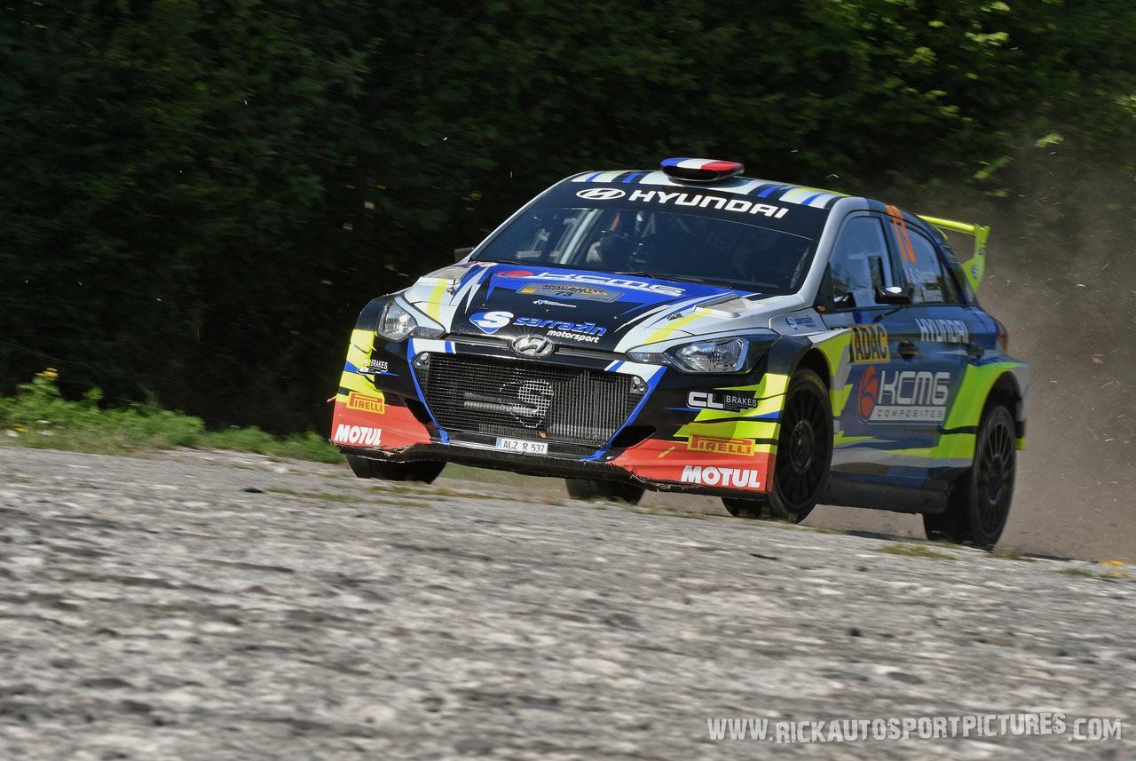 Stephane Sarrazin Deutschland Rally 2019