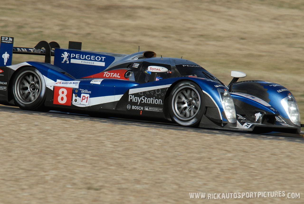 Stephane Sarrazin Le Mans 2011
