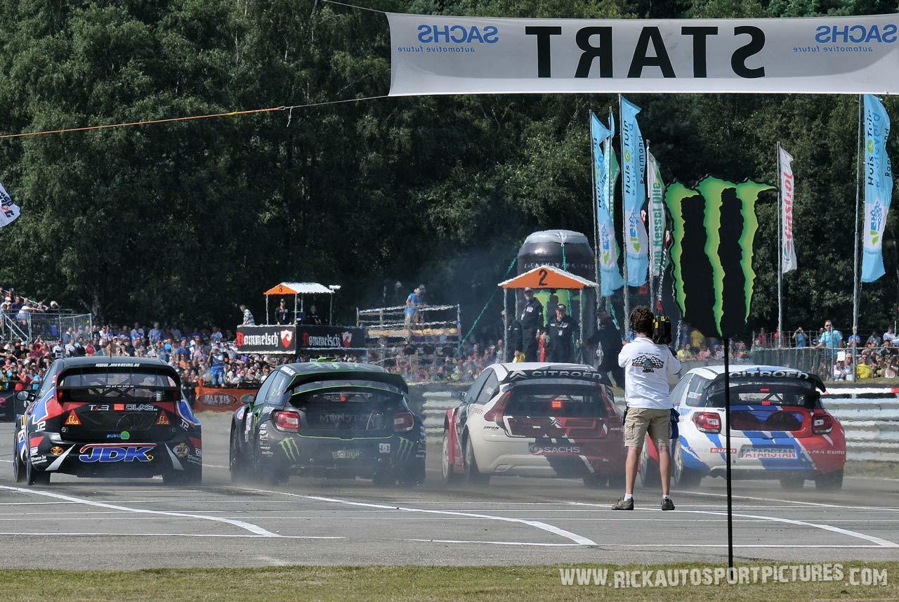 Start Rallycross Valkenswaard 2012