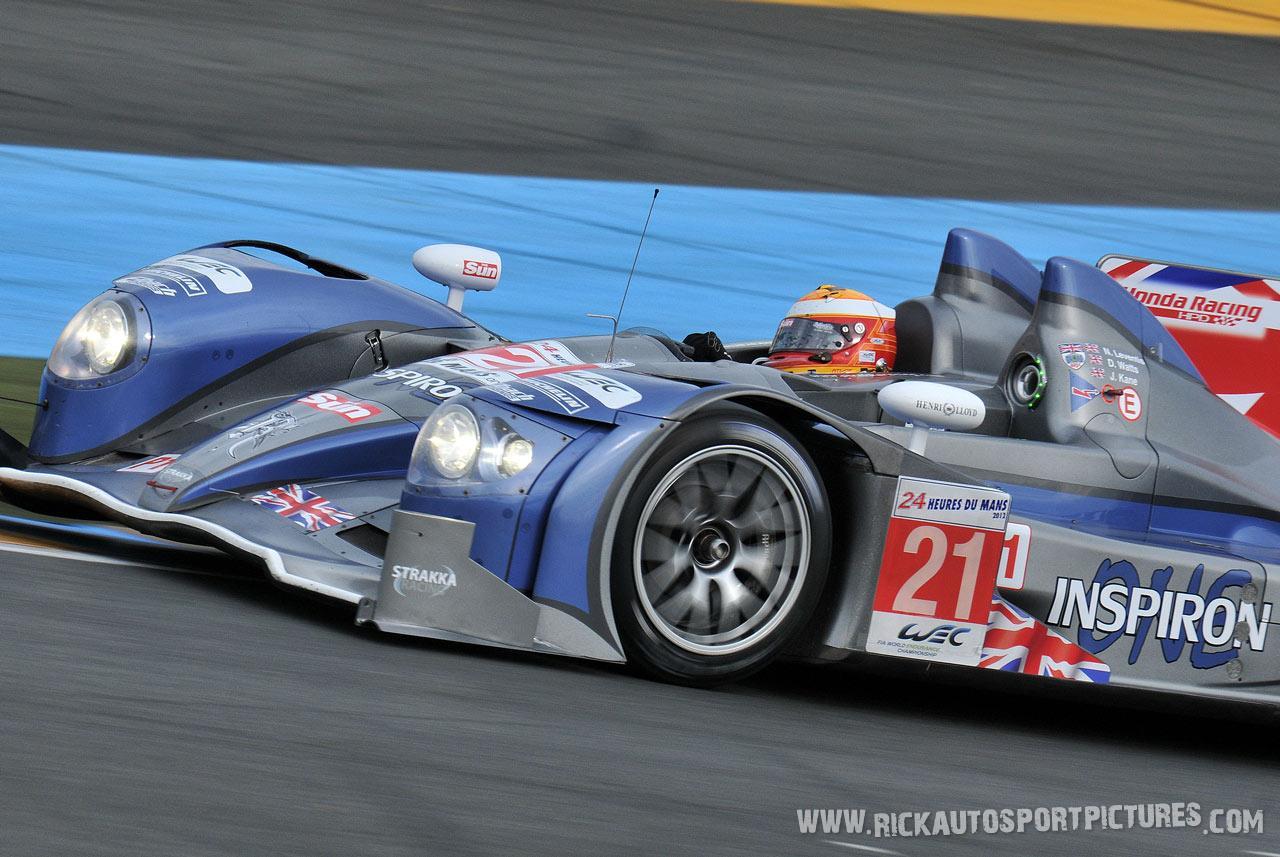 Jonny Kane Le Mans 2012
