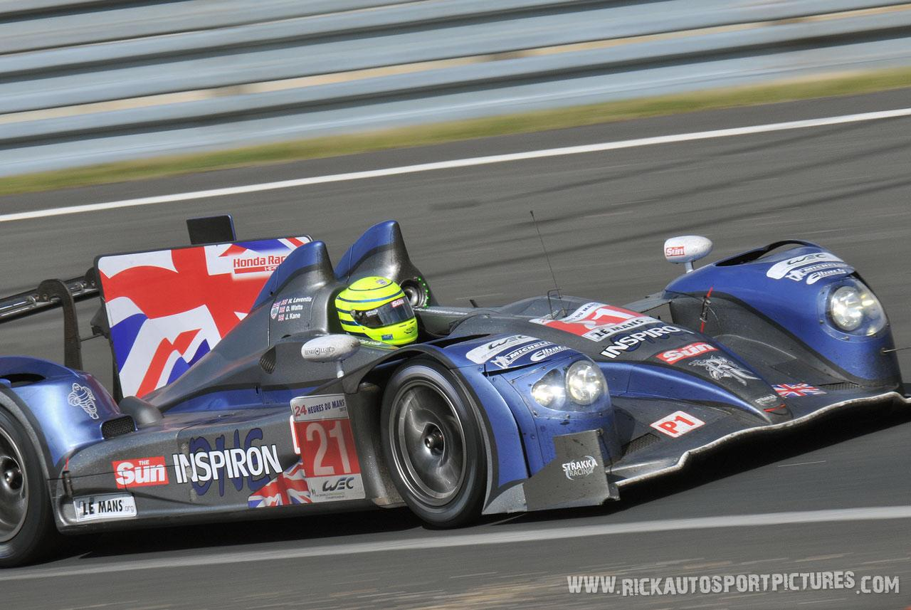 Danny Watts Le Mans 2012