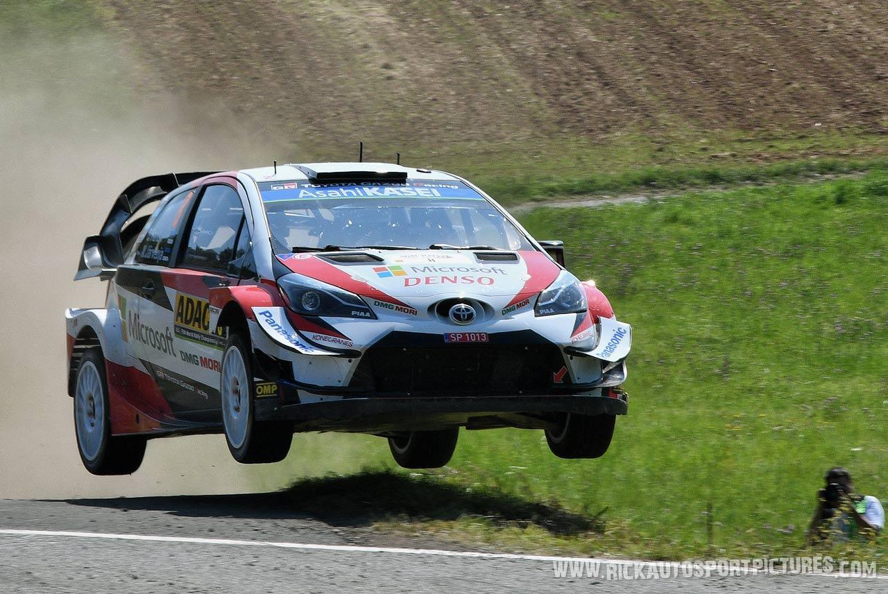 Ott Tänak Deutschland Rally 2019
