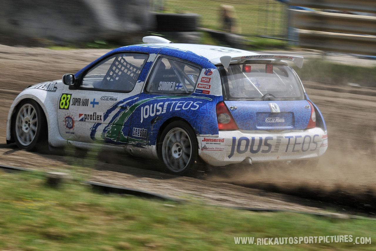 Teemu Suninen rallycross