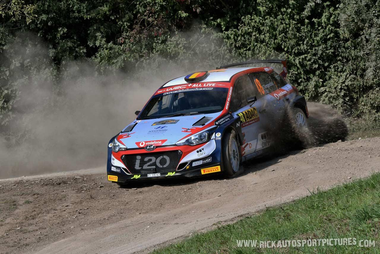 Simone Tempestini wrc Deutschland Rally 2019