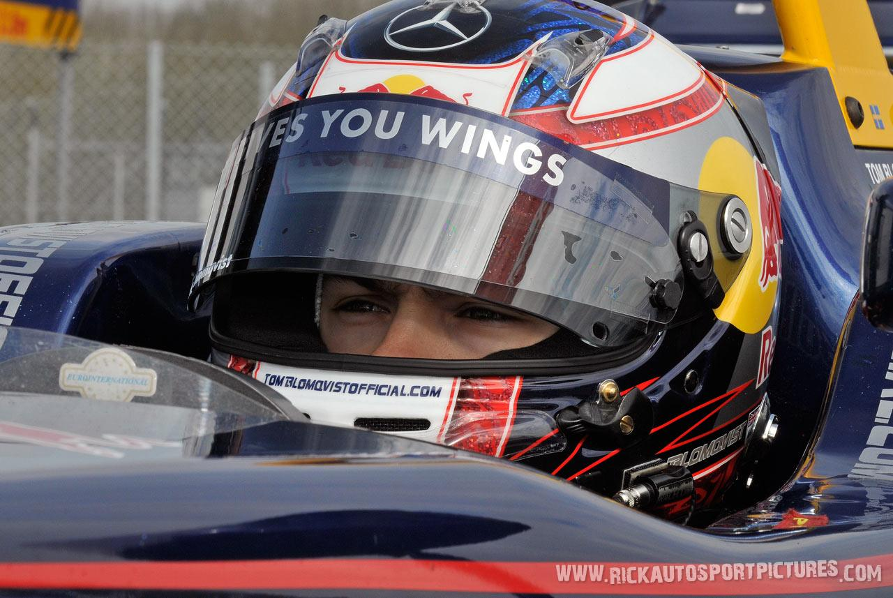 Tom Blomqvist, Silverstone 2013