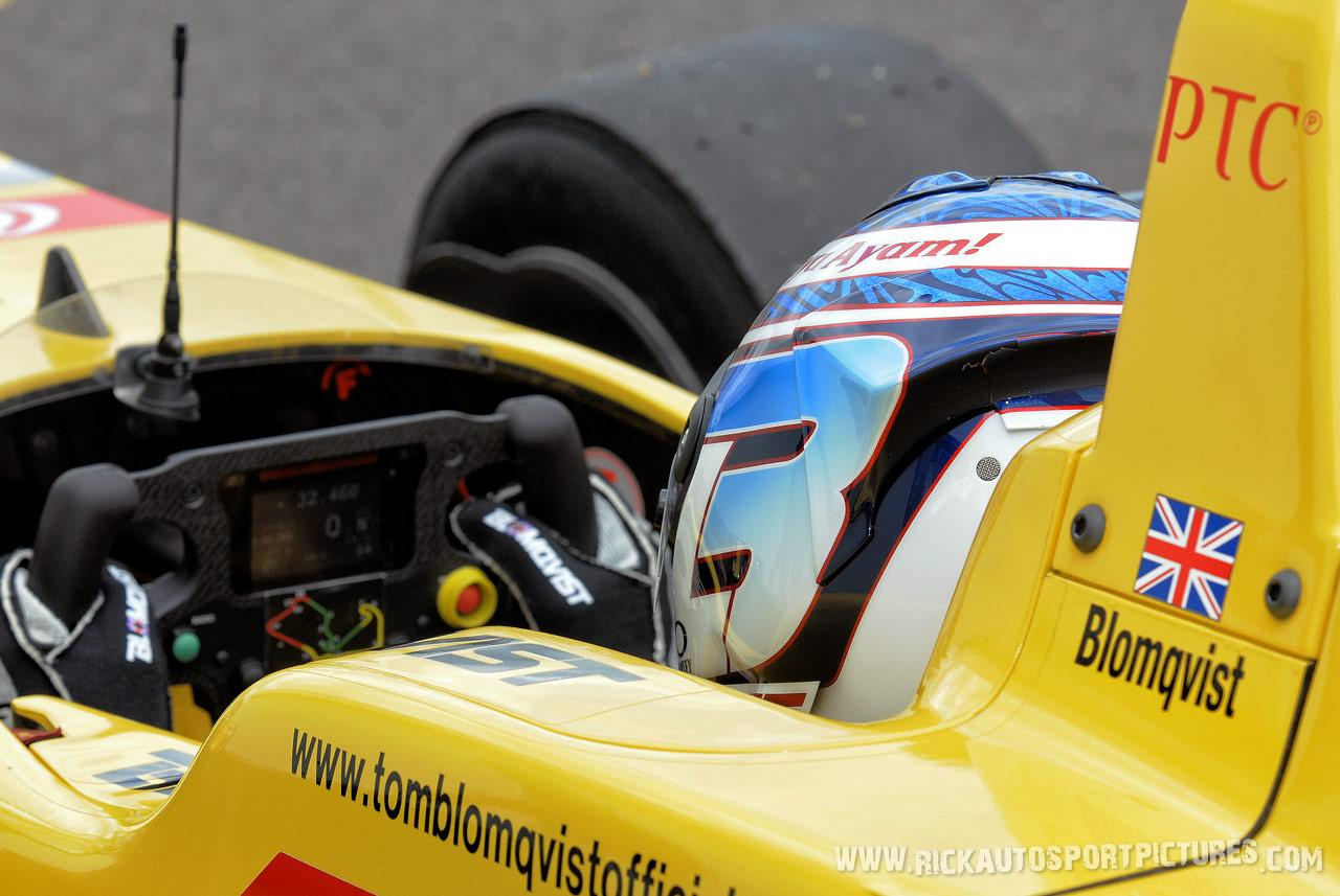 Tom Blomqvist, Silverstone 2014