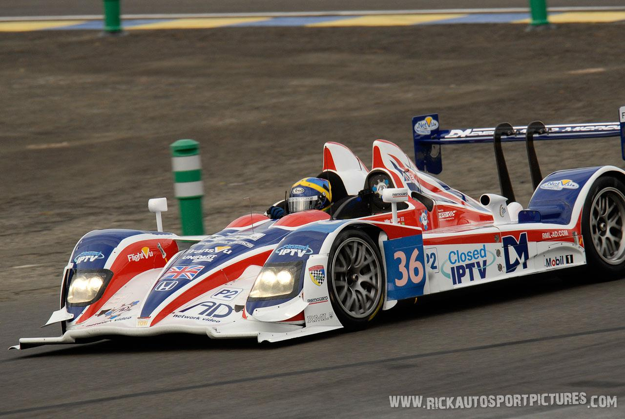 Tommy Erdos Le Mans 2011