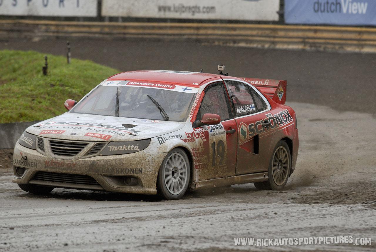 Toomas Heikkinen rallycross 2011