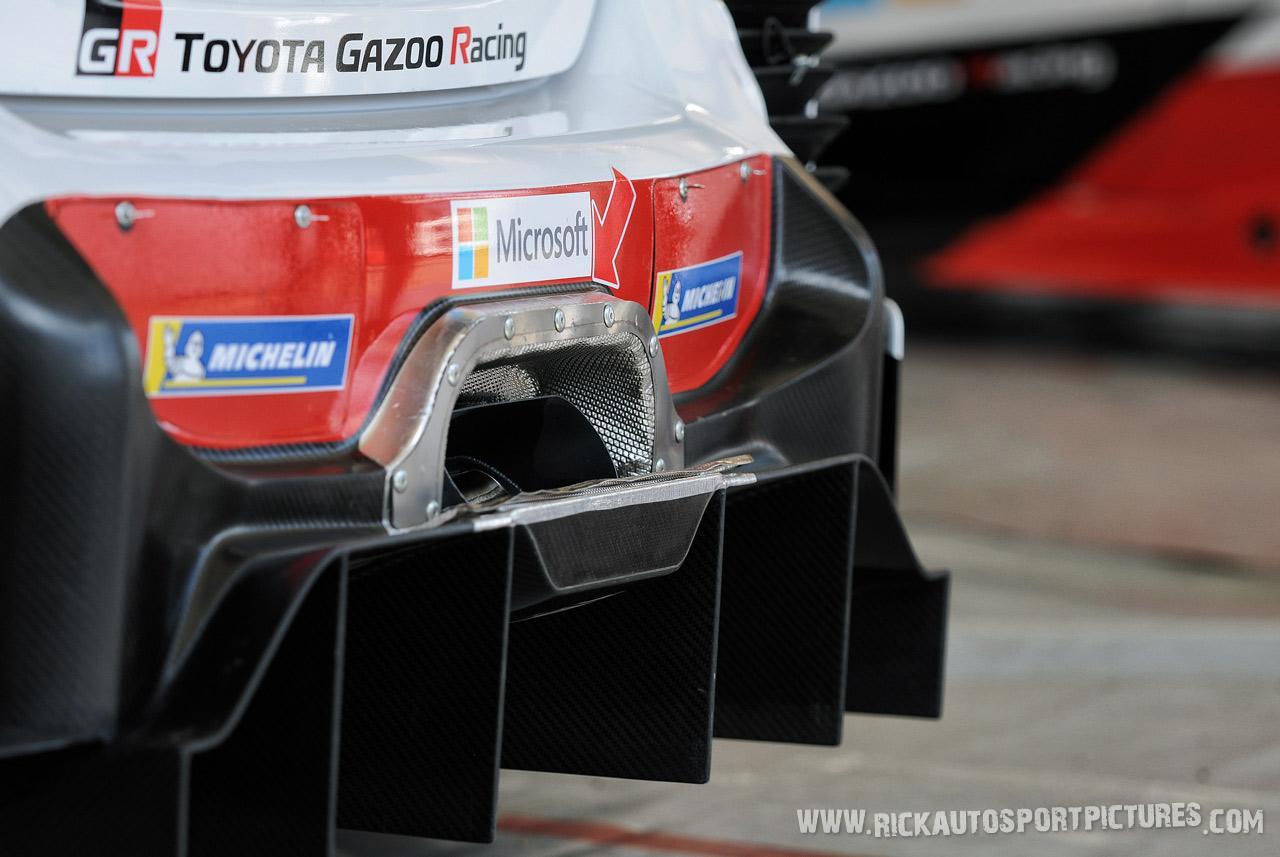 Toyota GAZOO wrc Deutschland Rally 2019