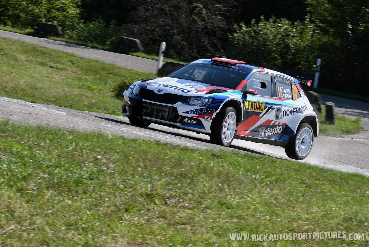 Pieter Tsjoen wrc deutschland Rally 2019