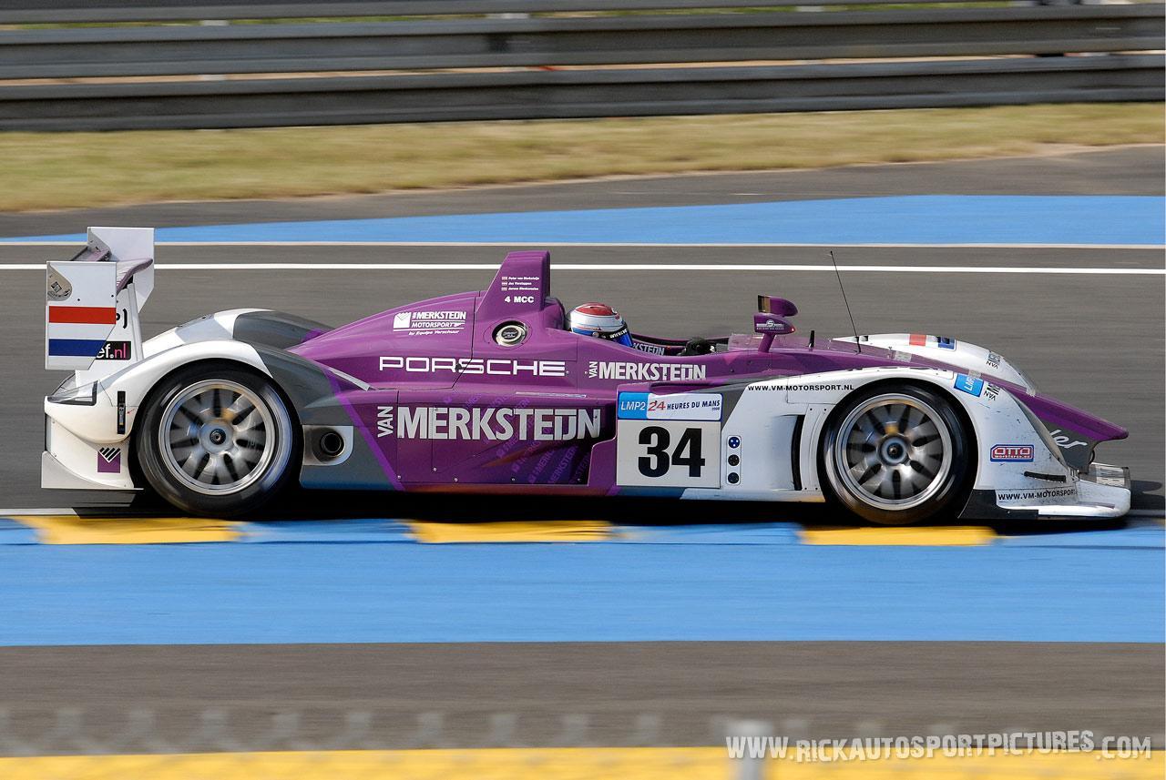 Jos Verstappen Le Mans 2008