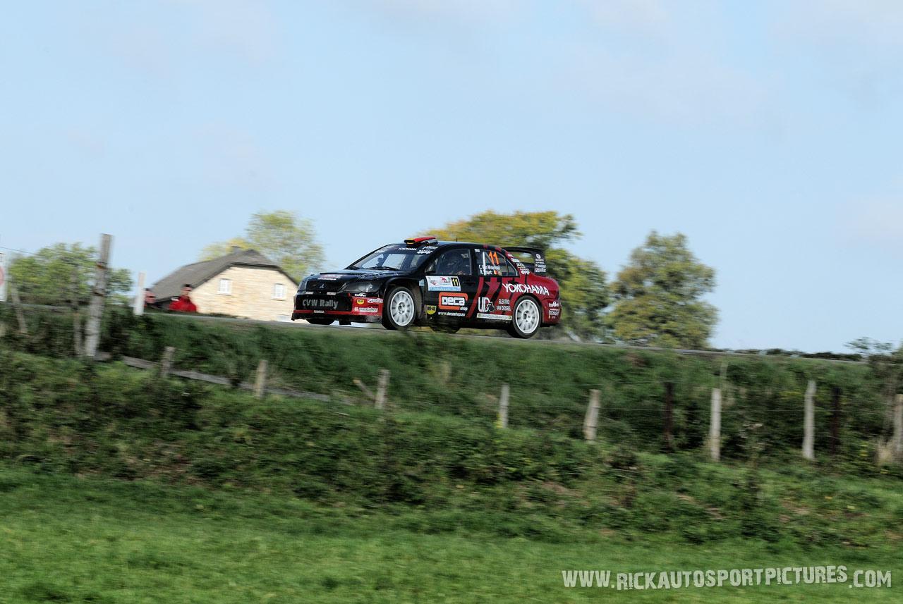 Chris Van Woensel East Belgian Rally 2015