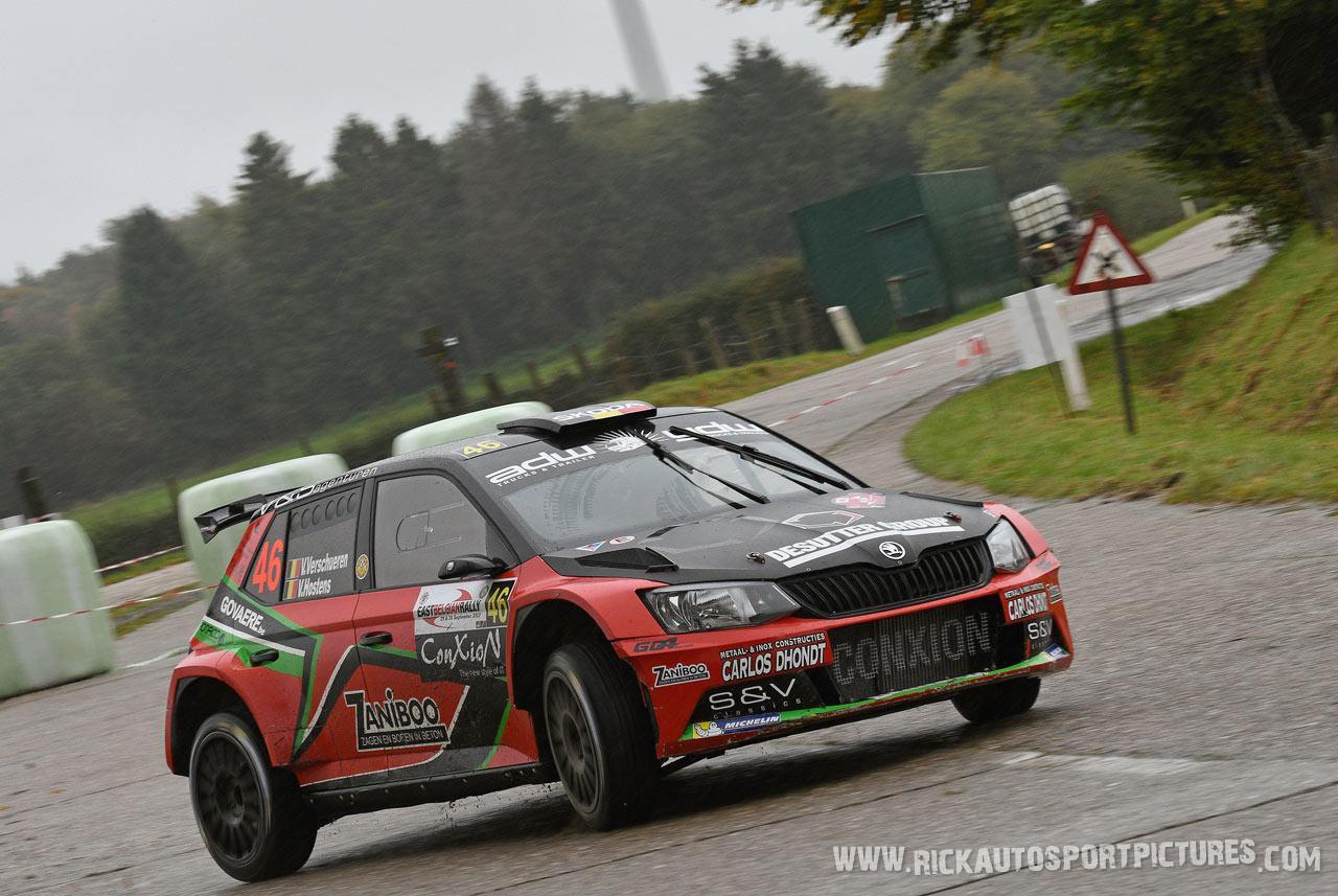 Vincent Verschueren East Belgian Rally 2017