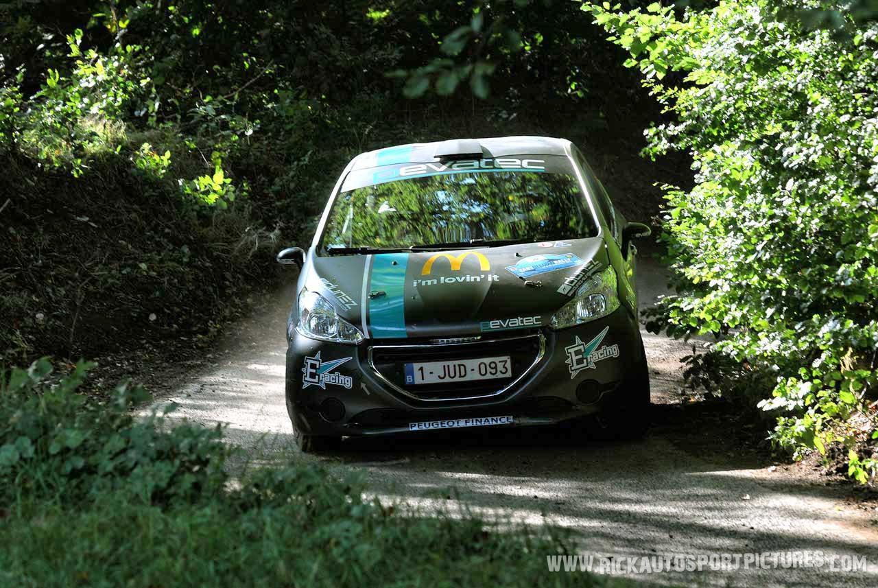 Joachim Wagemans east belgian rally 2015