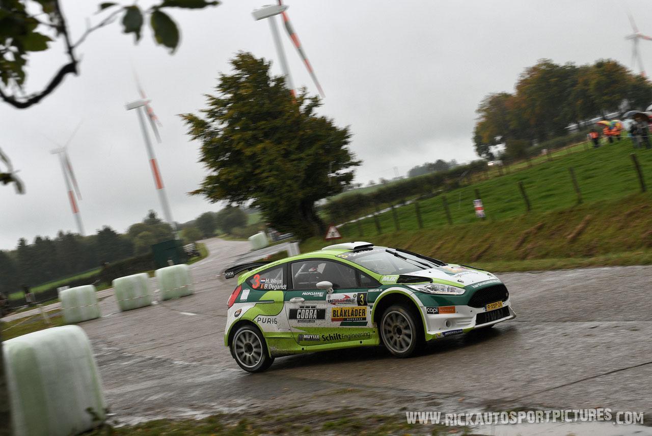Hans Weijs jr. East Belgian Rally 2017