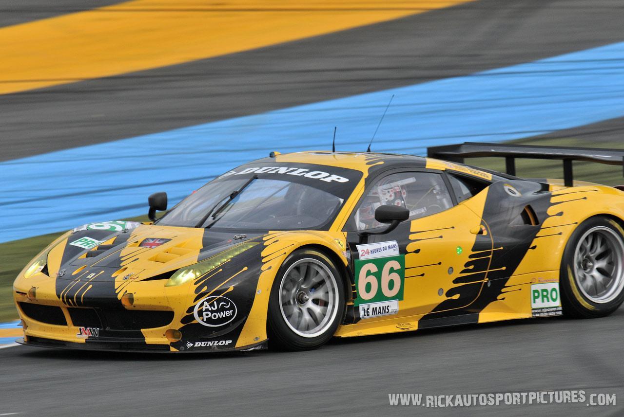 JMW Motorsport Le Mans 2012