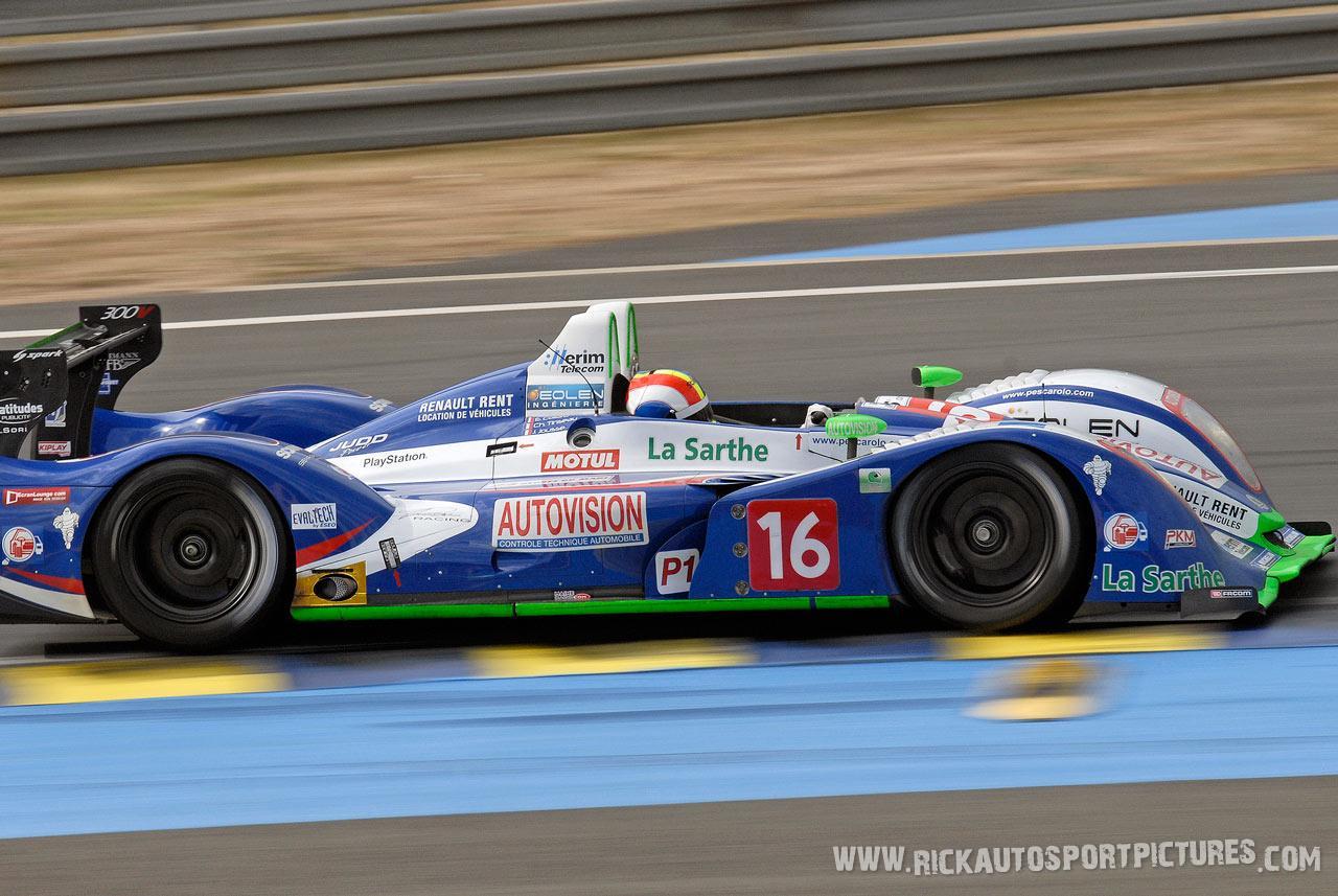 Julien Jousse Le Mans 2011
