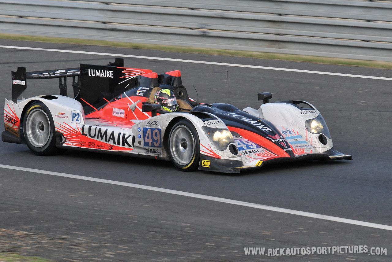 PECOM Racing Le Mans 2012