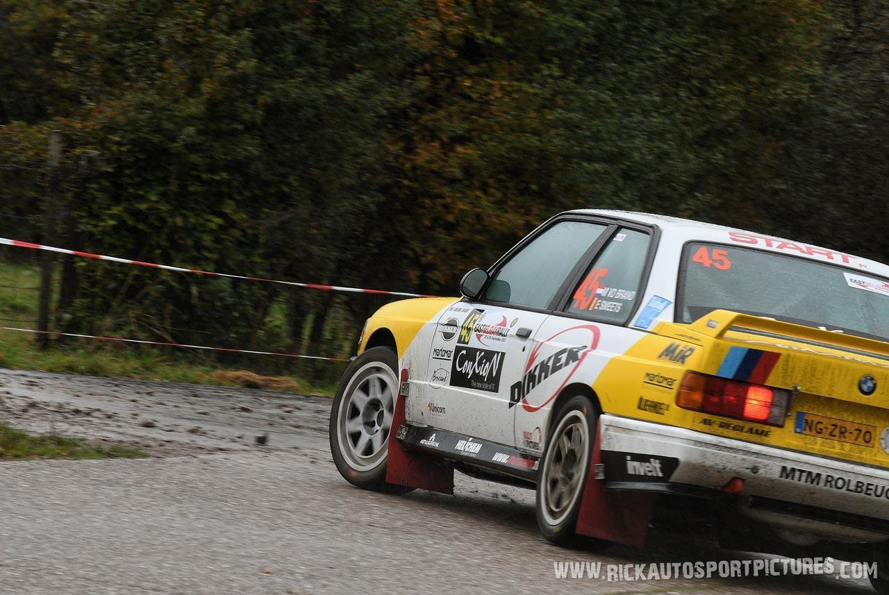 Mats van den Brand East Belgian Rally 2017