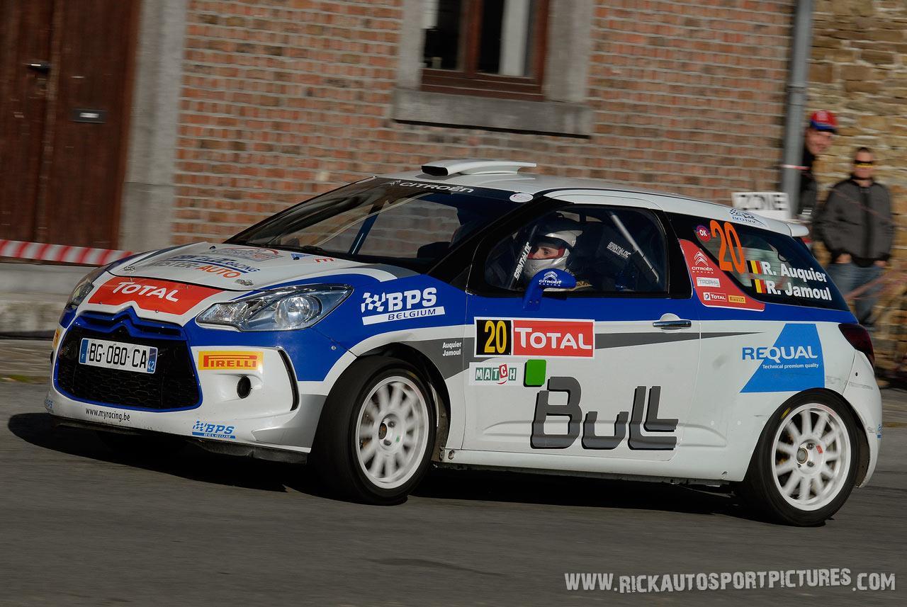 Raphael Auquier condroz rally 2011
