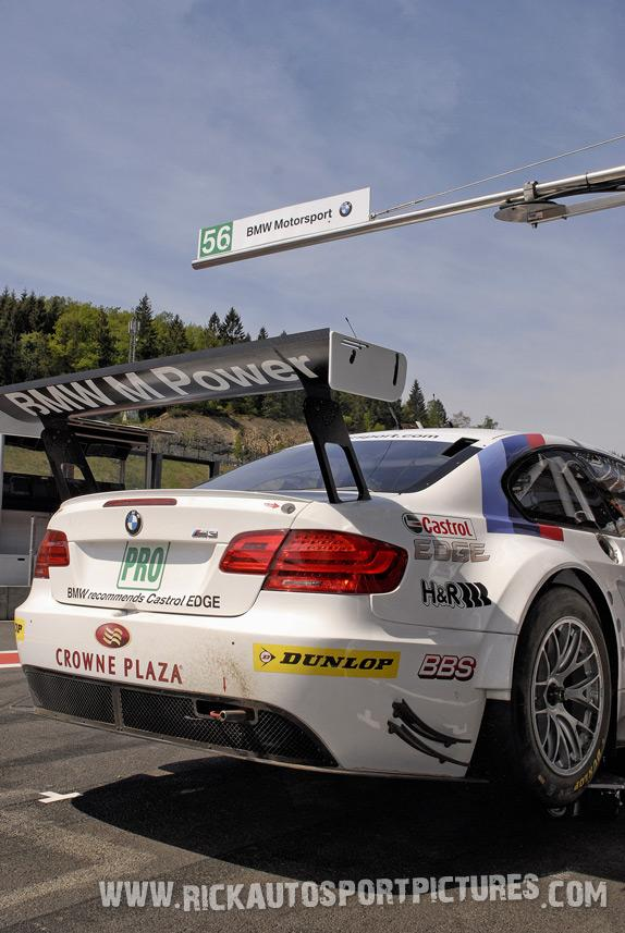 BMW Motorsport spa 2011
