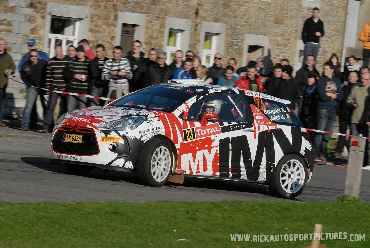 Xavier Baugnet condroz rally 2011