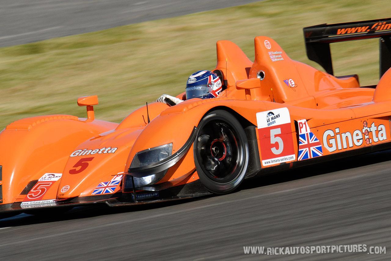 Mansell Ginetta 2009