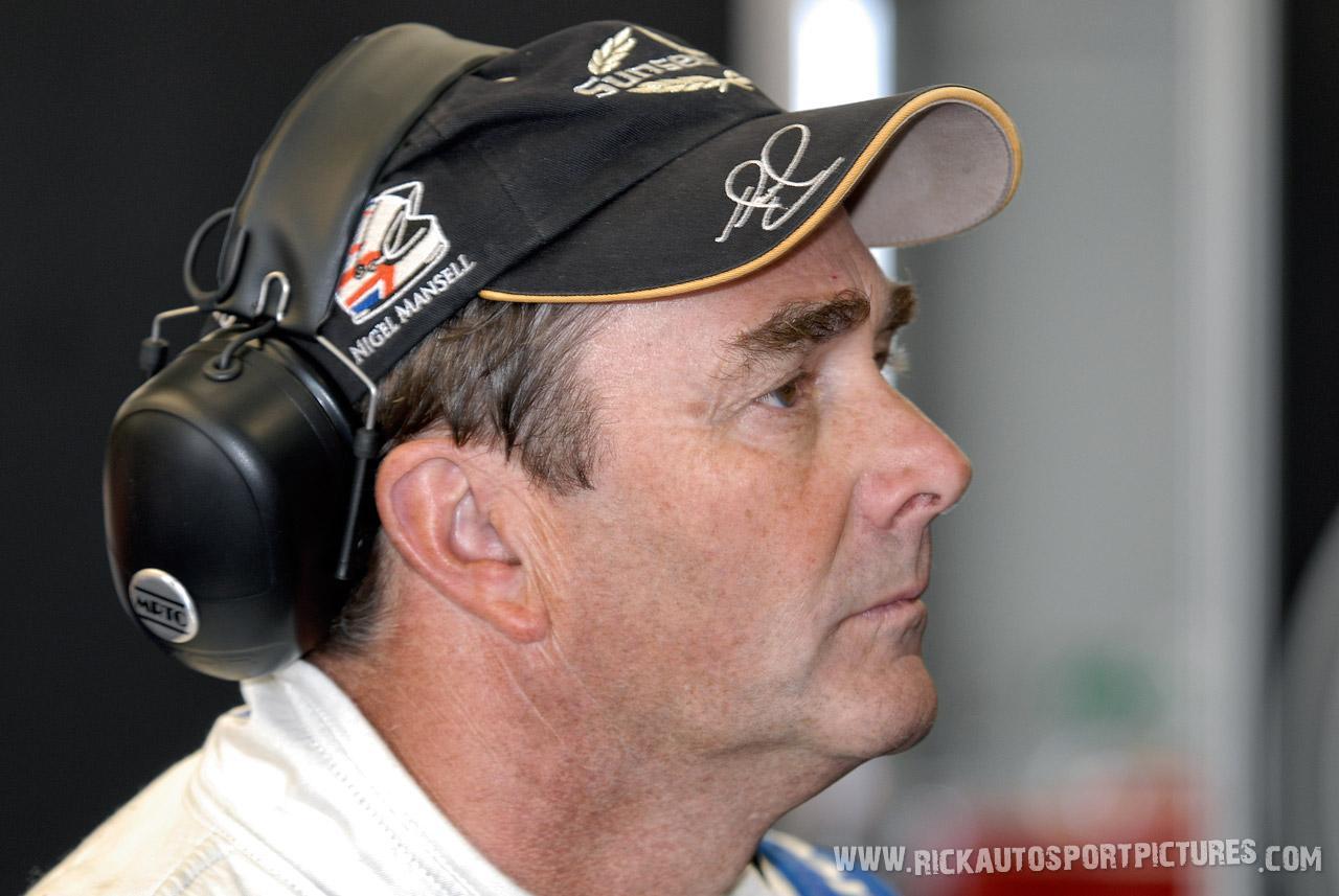 Nigel Mansell silverstone 2009