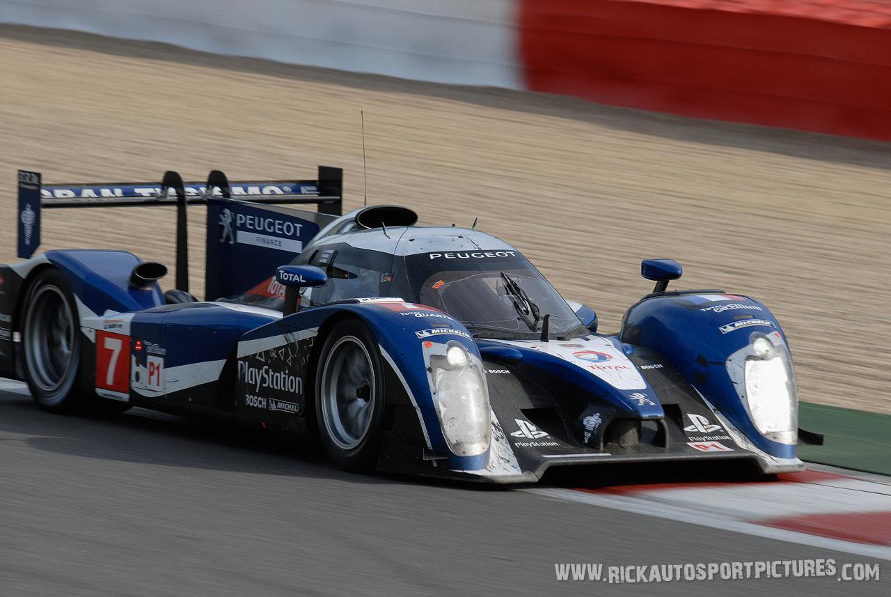 Team Peugeot spa 2011