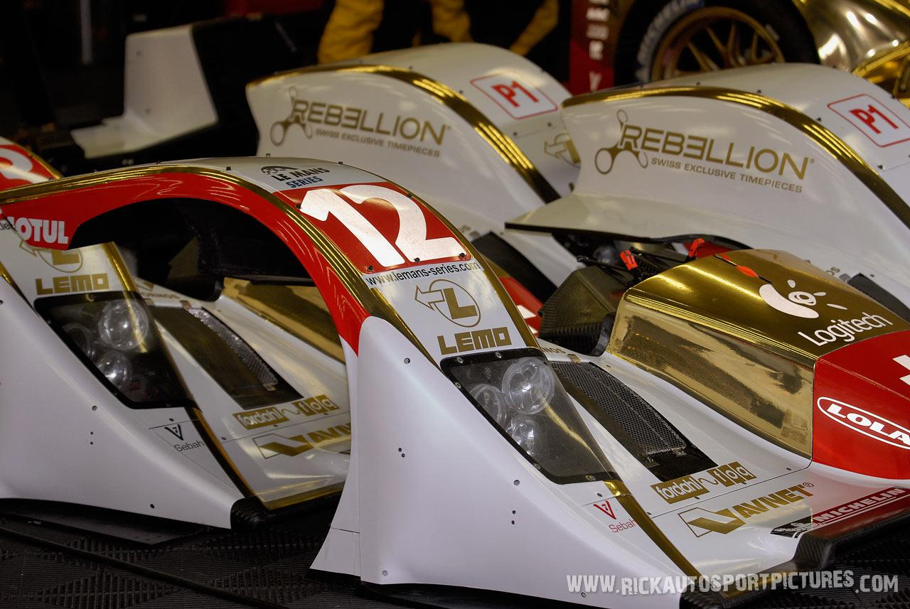 Rebellion Racing Spa 2010