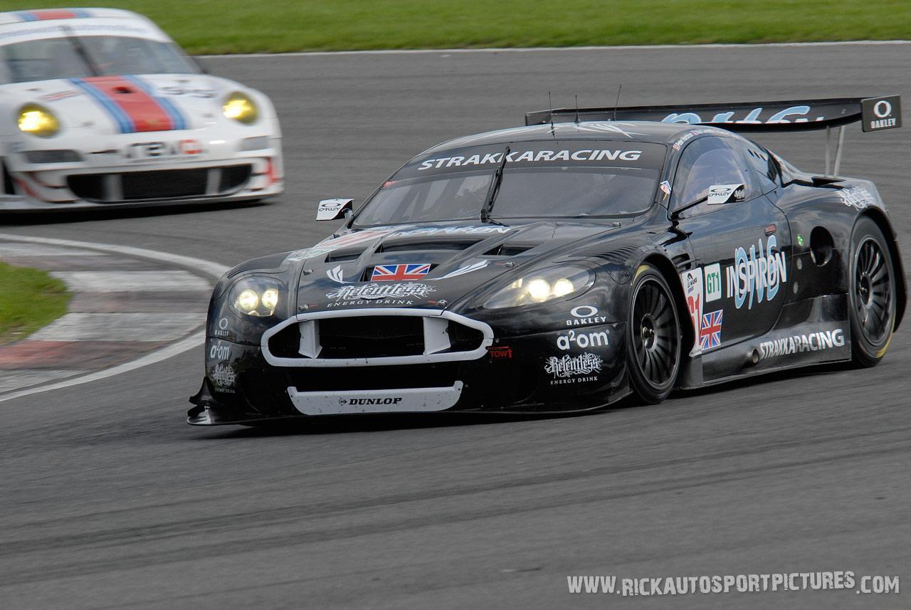 Strakka Racing Aston Martin Silverstone 2008
