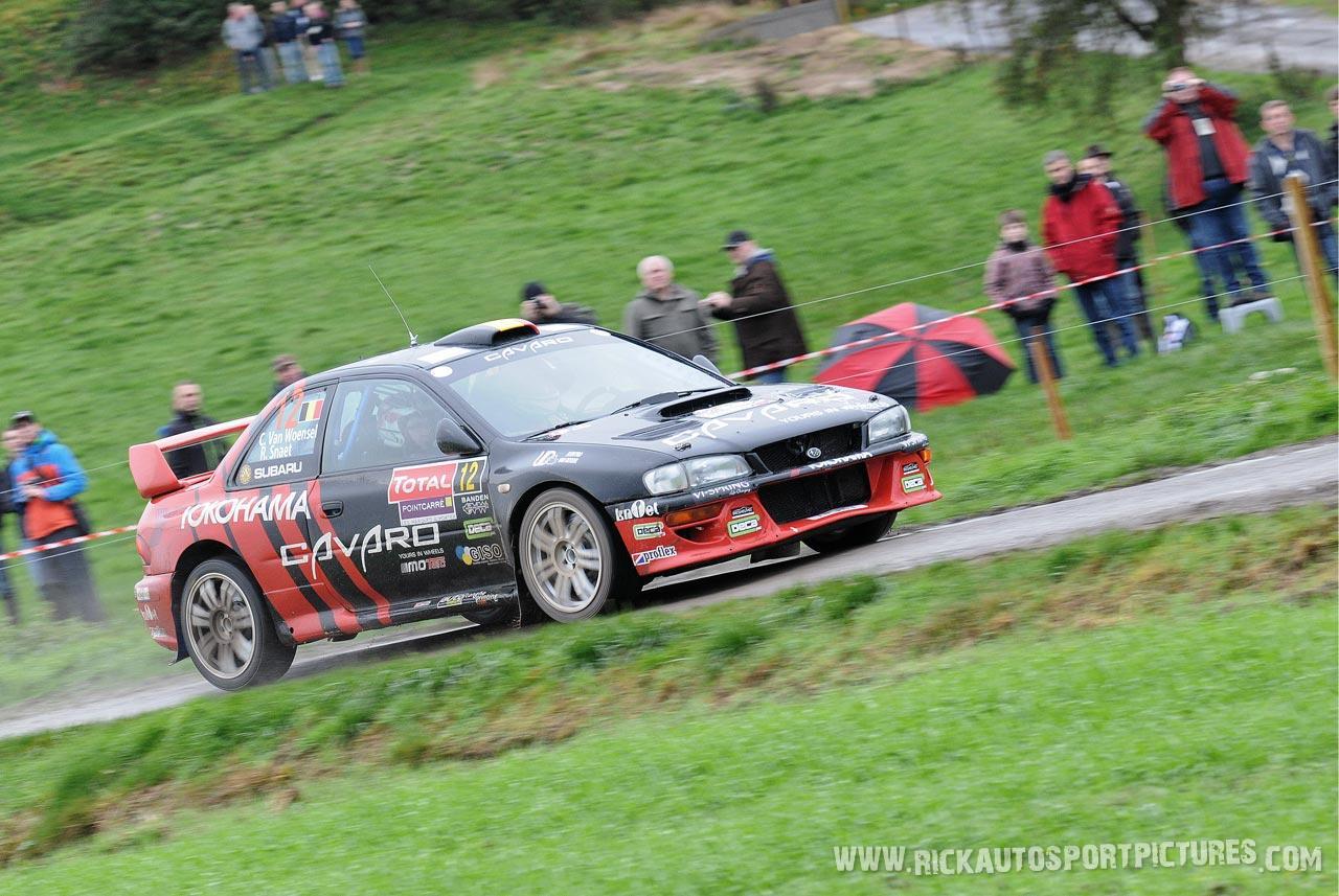 Chris Van Woensel Condroz Rally 2013