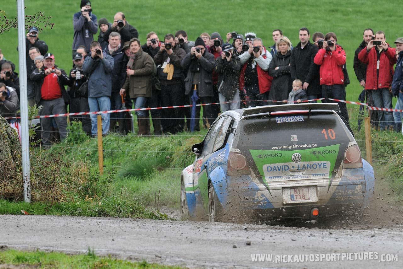 Vincent Verschueren condroz Rally 2013