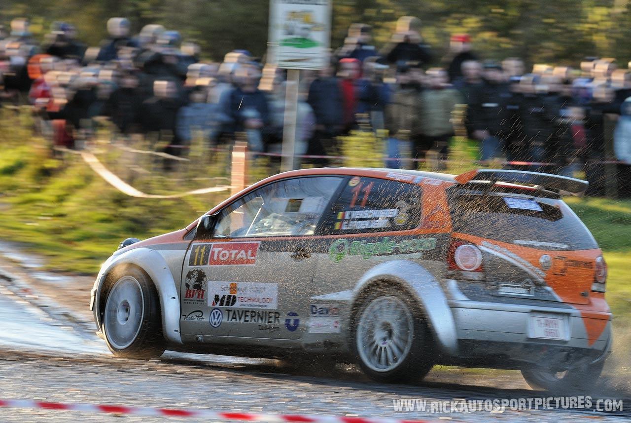 Vincent Verschueren Condroz Rally 2012