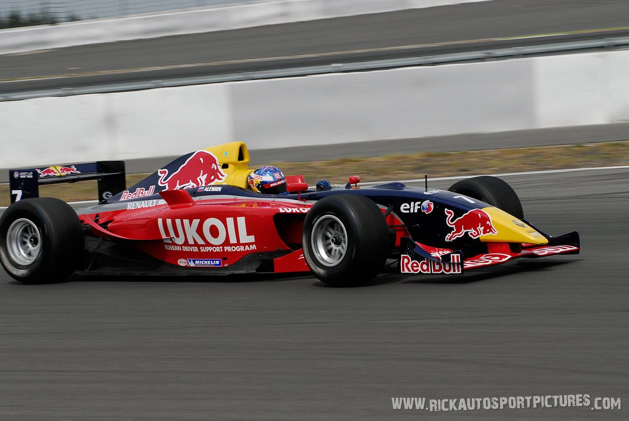 Mikhail Aleshin wsr nurburgring 2007