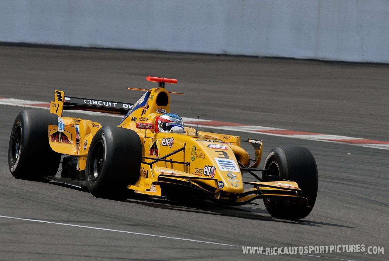 Bertrand Baguette renault world series 2008