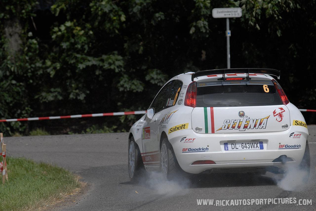 Giandomenico Basso Ypres Ieper Rally 2008