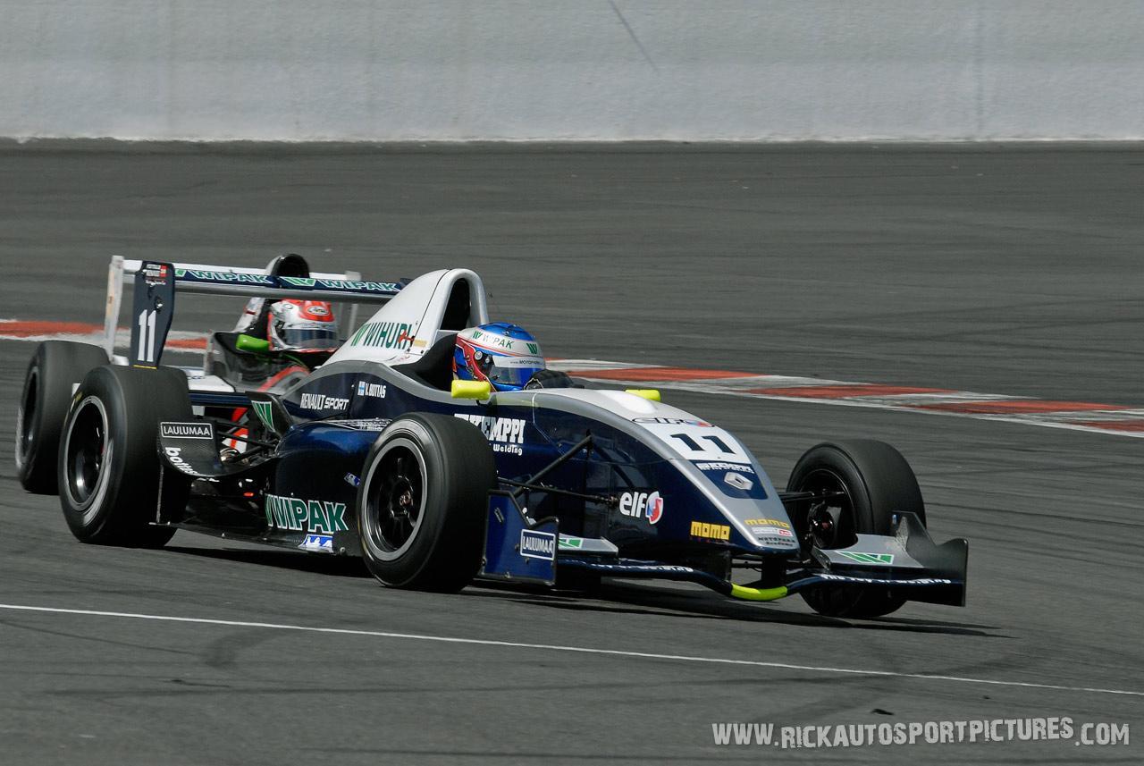Valtteri Bottas Formula Renault 2008