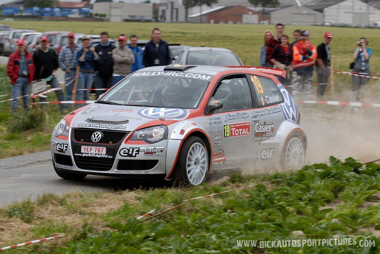 Bernd Casier Ypres Ieper Rally 2008
