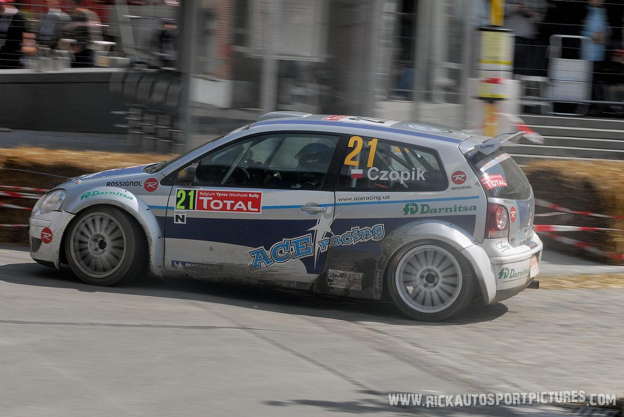 Tomasz Czopik Ypres Rally 2007