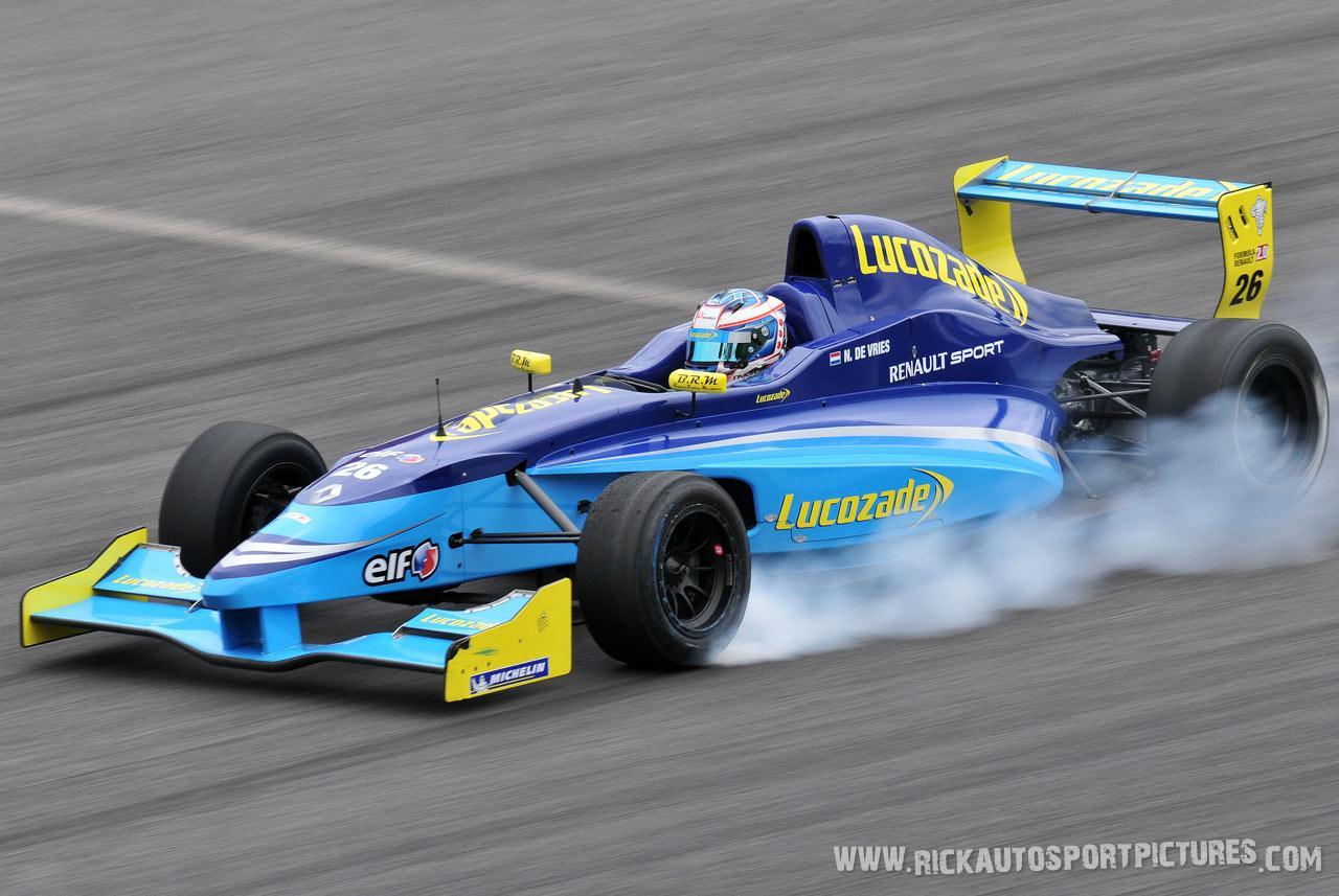Nyck de Vries formule renault 2.0 2012