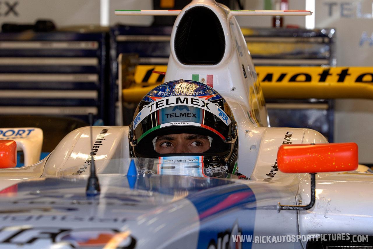 Salvador Duran renault world series 2008