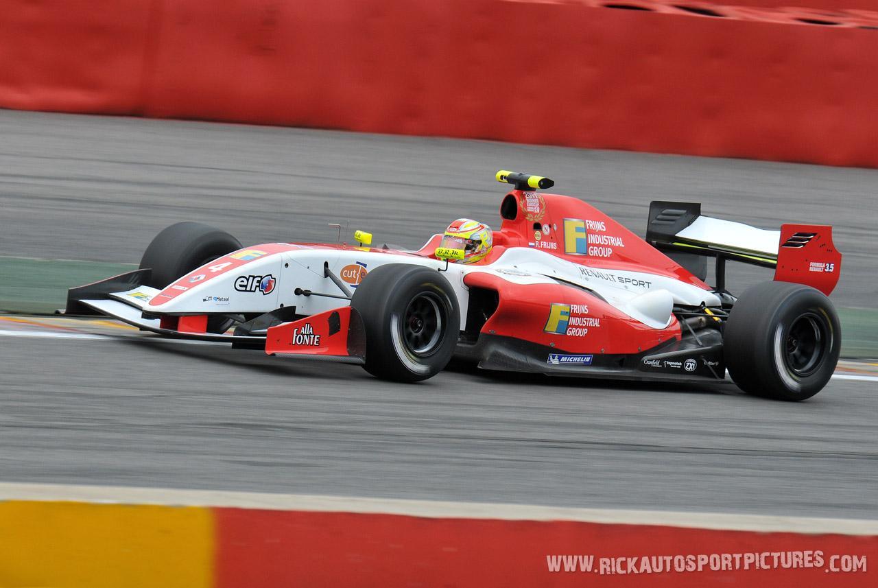 Robin Frijns world series renault 2012
